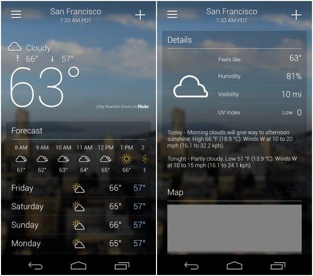 Погода приложение андроид скачать бесплатно